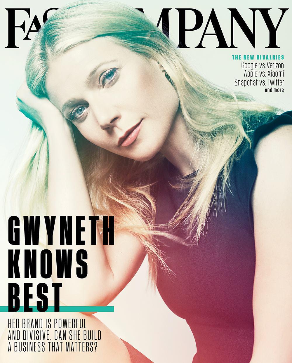 Gwyneth Paltrow for Fast Company