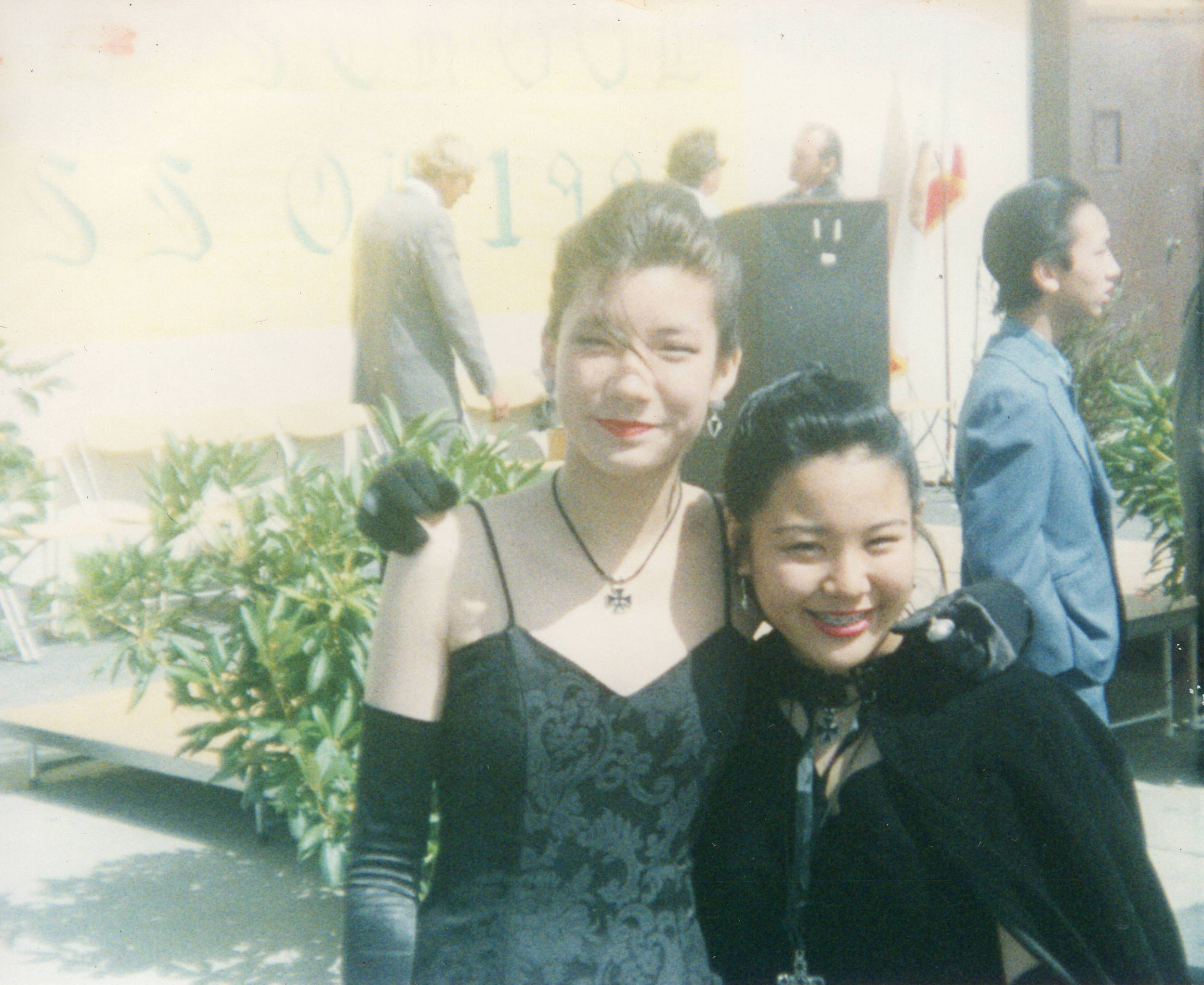 1992_Kira and Michelle_8th Grade Grad June.JPG