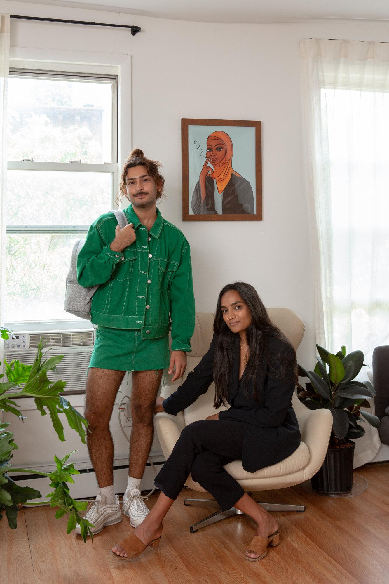 Mohammed Fayaz and Nafisa