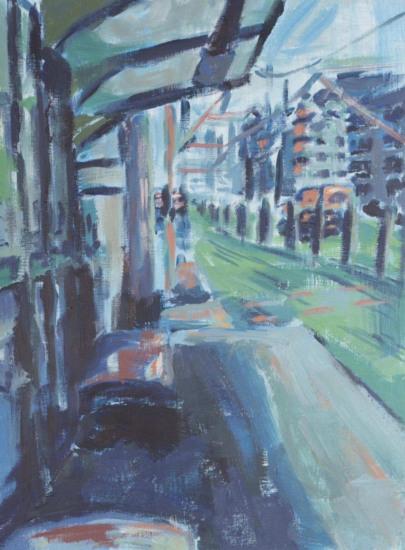 Study: Straßenbahn Haltestelle