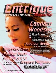 Candace graces the latest cover of Entrigue Magazine
