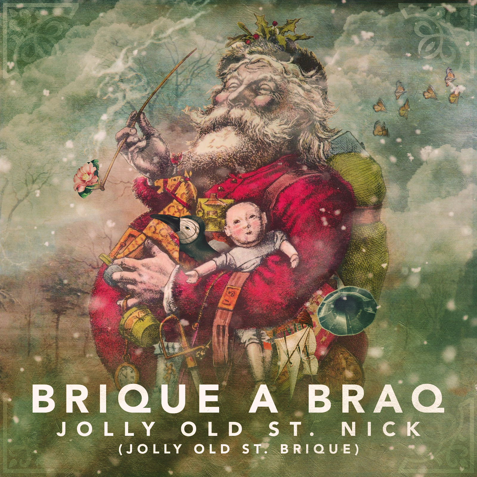 """Brique a Braq """"Jolly Old St. Nick (Jolly Old St. Brique)"""" 2018"""