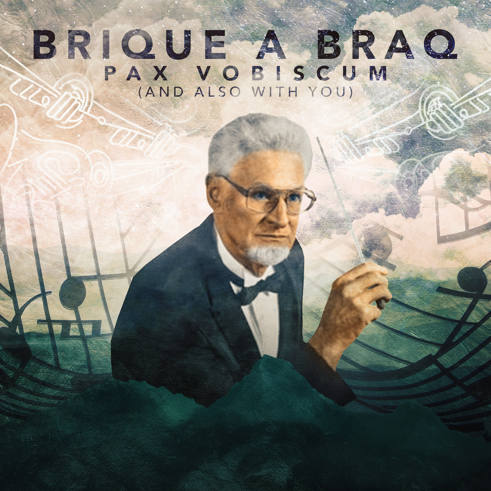 """Brique a Braq """"Pax Vobiscum (And Also With You)"""" 2019"""