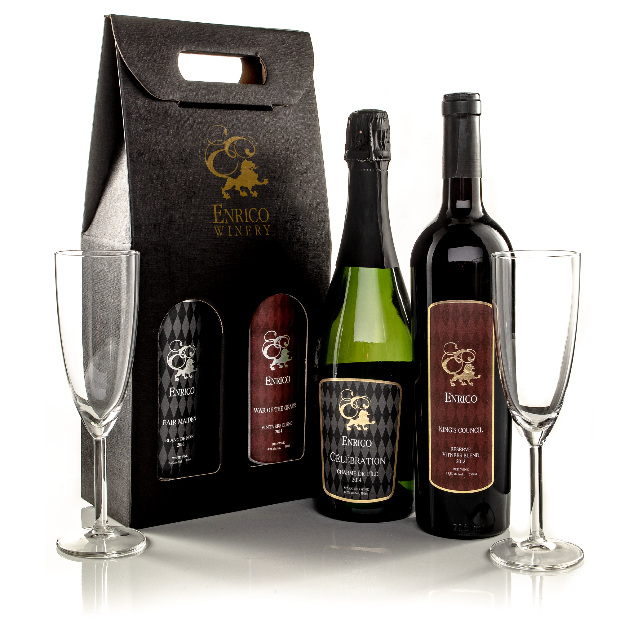 Easy Gift Giving - Gift Totes, Baskets and Glassware