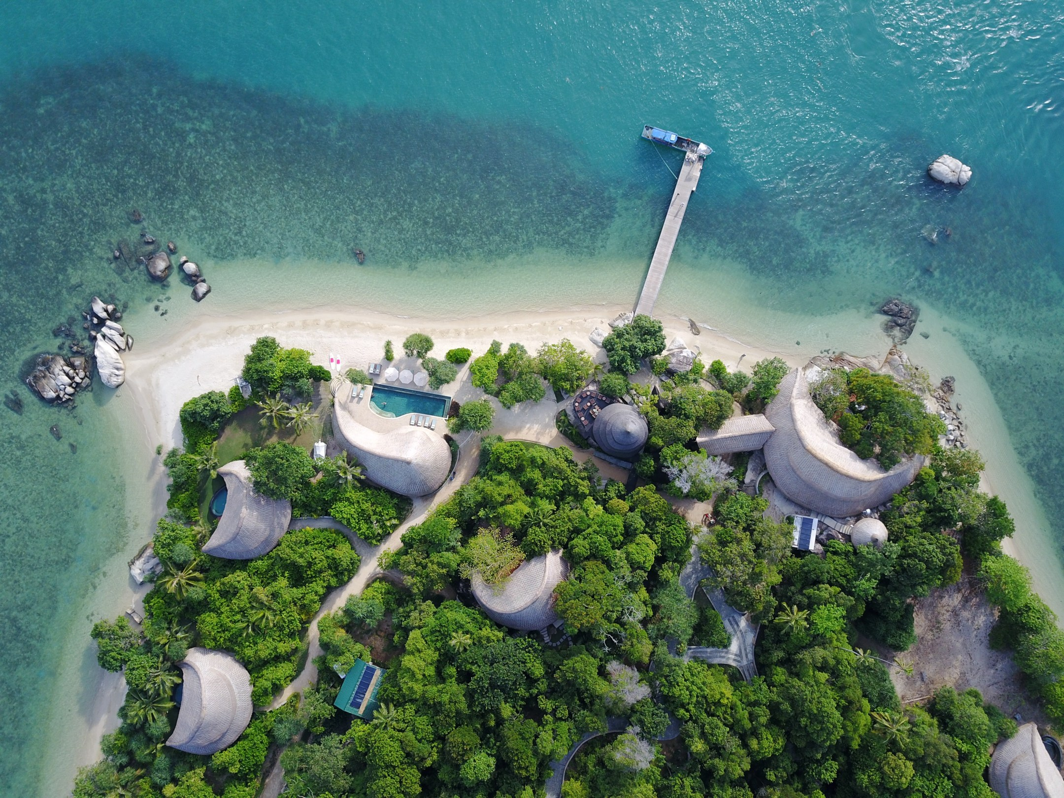 ElectrifyCempedak Island: Eco-Luxury with a Castaway Experience -