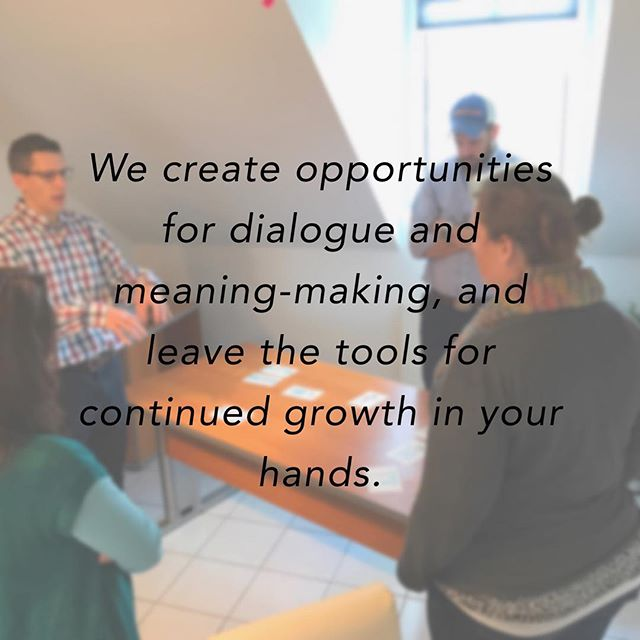 Adults learn through relationship and meaning making. We work with GOinnovation to help leaders do just that! #leadershipdevelopment #coaching #verticaldevelopment