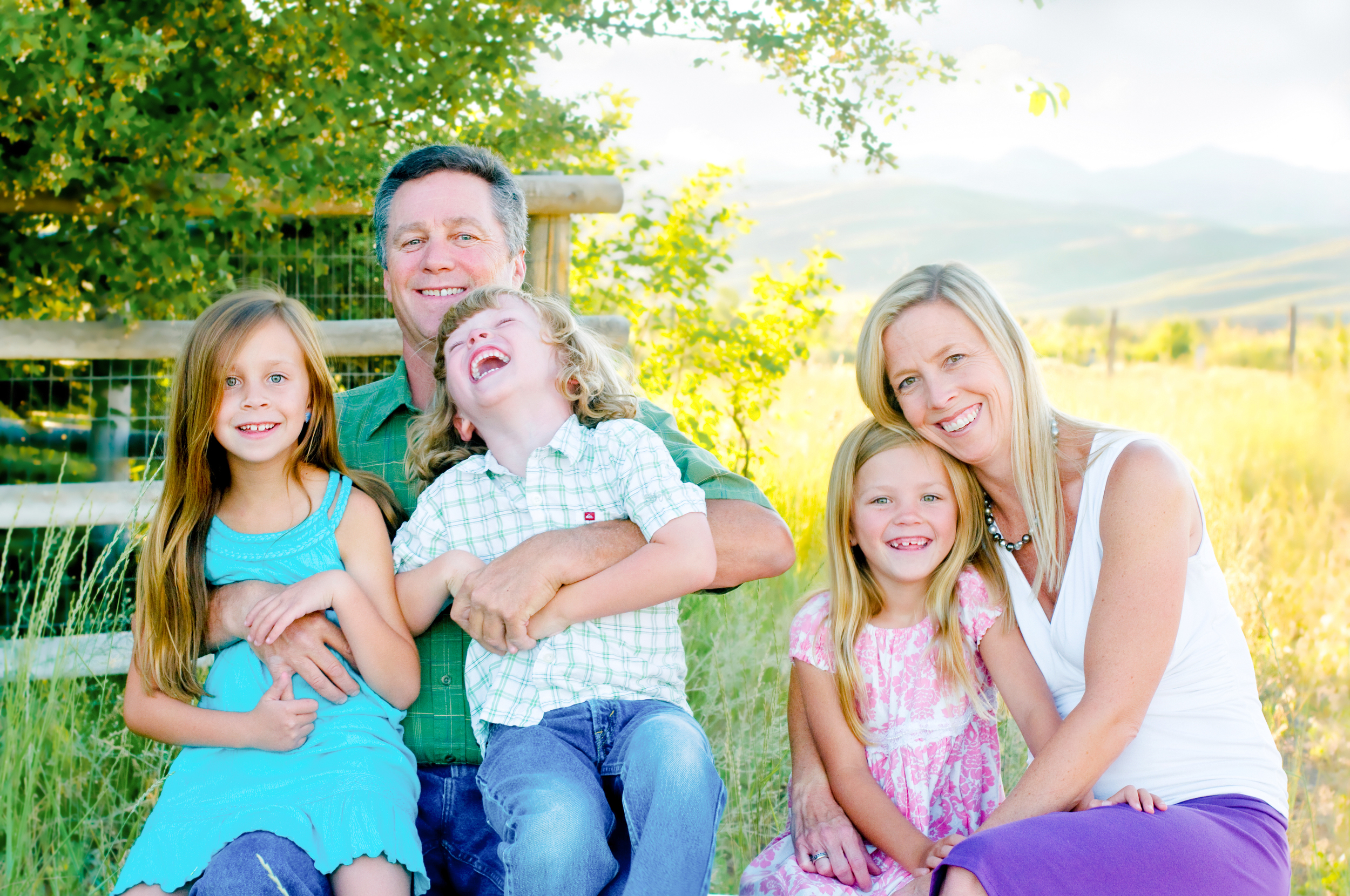 Ward Family Portraits - Idaho Family Photographer - Kristy Ambrogio - Forever Captured Images