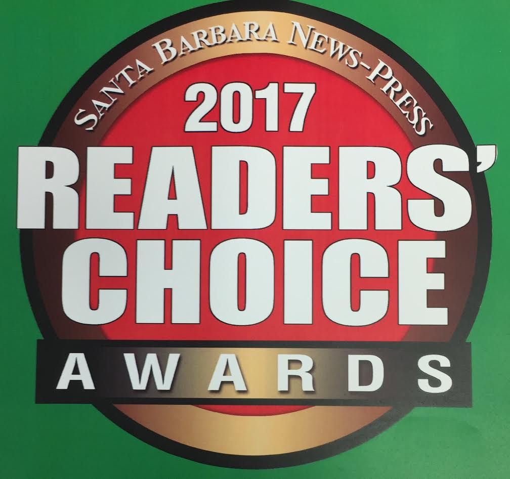 You made our day! - Thank YOU for making us your favorite LUNCH SPOT and Runner-up for Desserts & Runner-up for Catering.