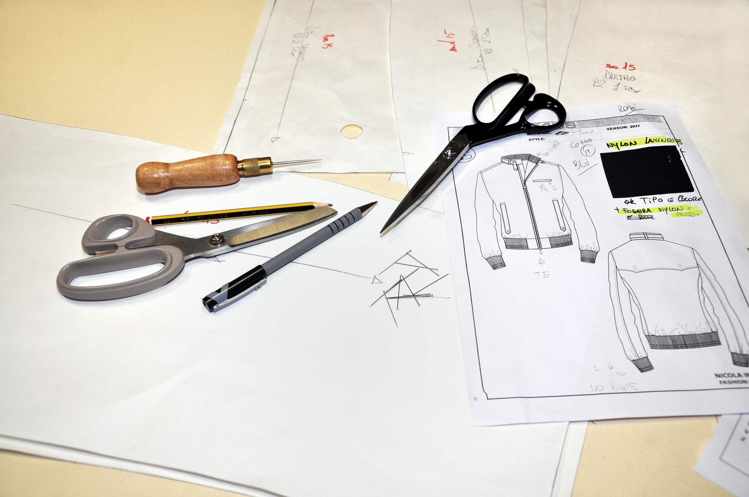 Technical design creates beautiful clothing, but you need to protect your intellectual property.  We offer a safe NDA to protect your interests as a fashion brand.