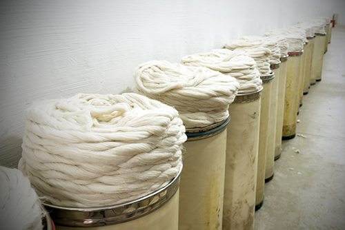 Cotton is a natural fiber that can be very sustainable if your factory is taking the right precautions to treat his cotton.  At our copmany, we have vertical control over the yarn through circular knitting.   By creating the world's latest trends in textiles, Urth Apparel is offer to offer its clients the best garments in the marketplace.