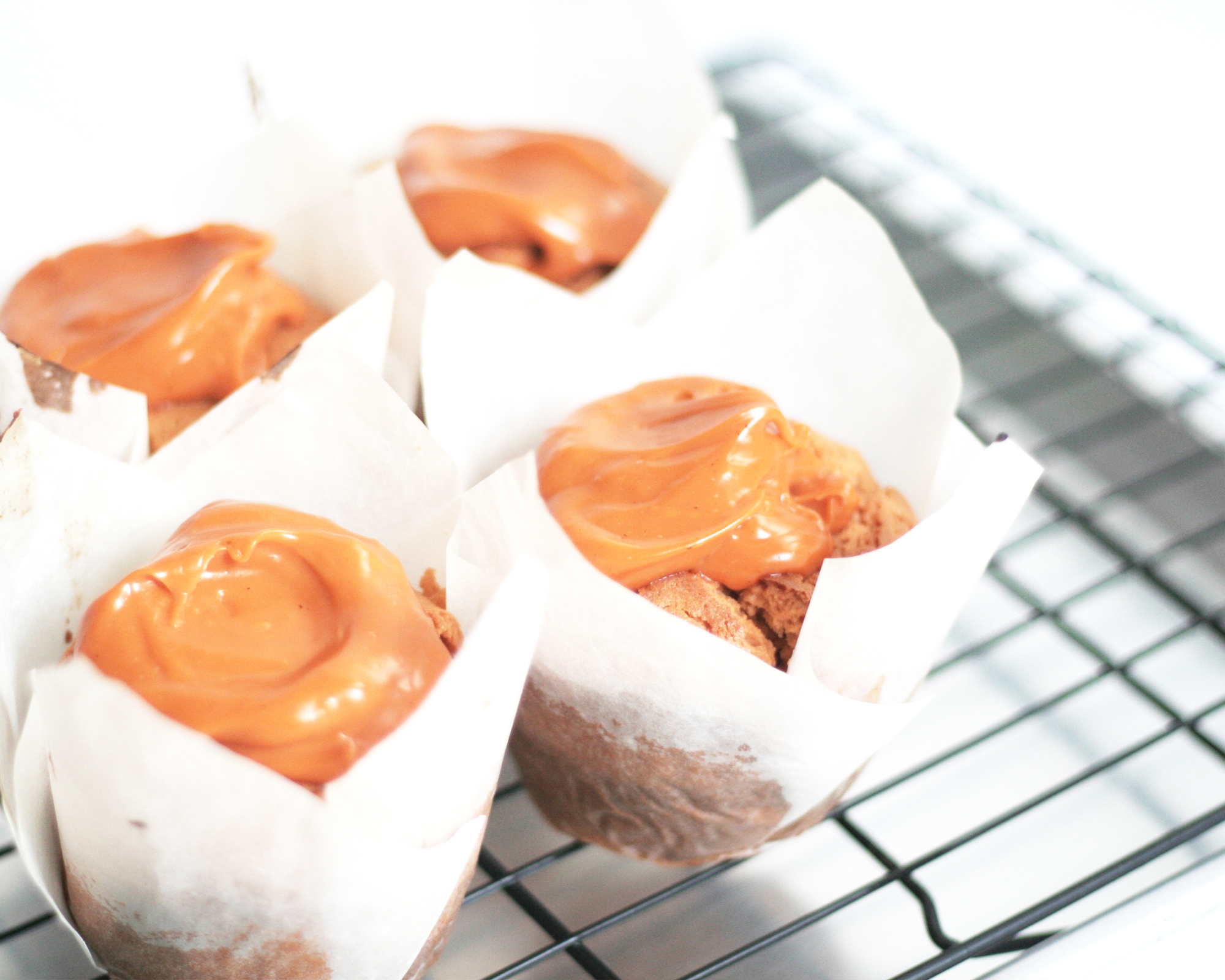 thai milk tea muffins - Thai milk tea muffinsThai milk tea fudge fillingThai milk tea frosting9pcs 400hkd