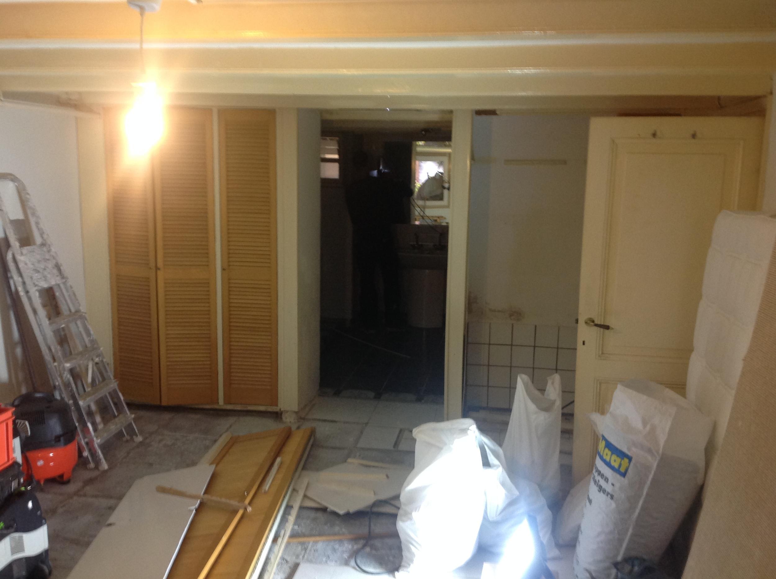 Achterkamer, vóór de verbouwing