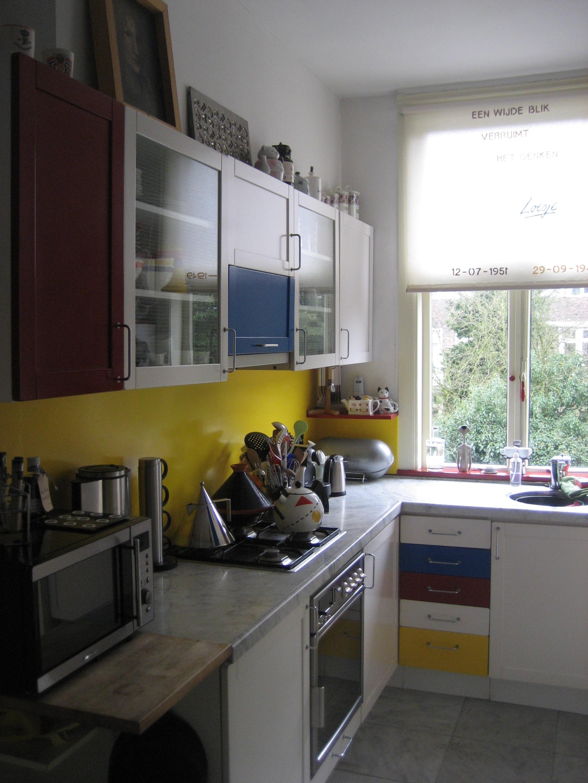 Keuken, vóór de verbouwing