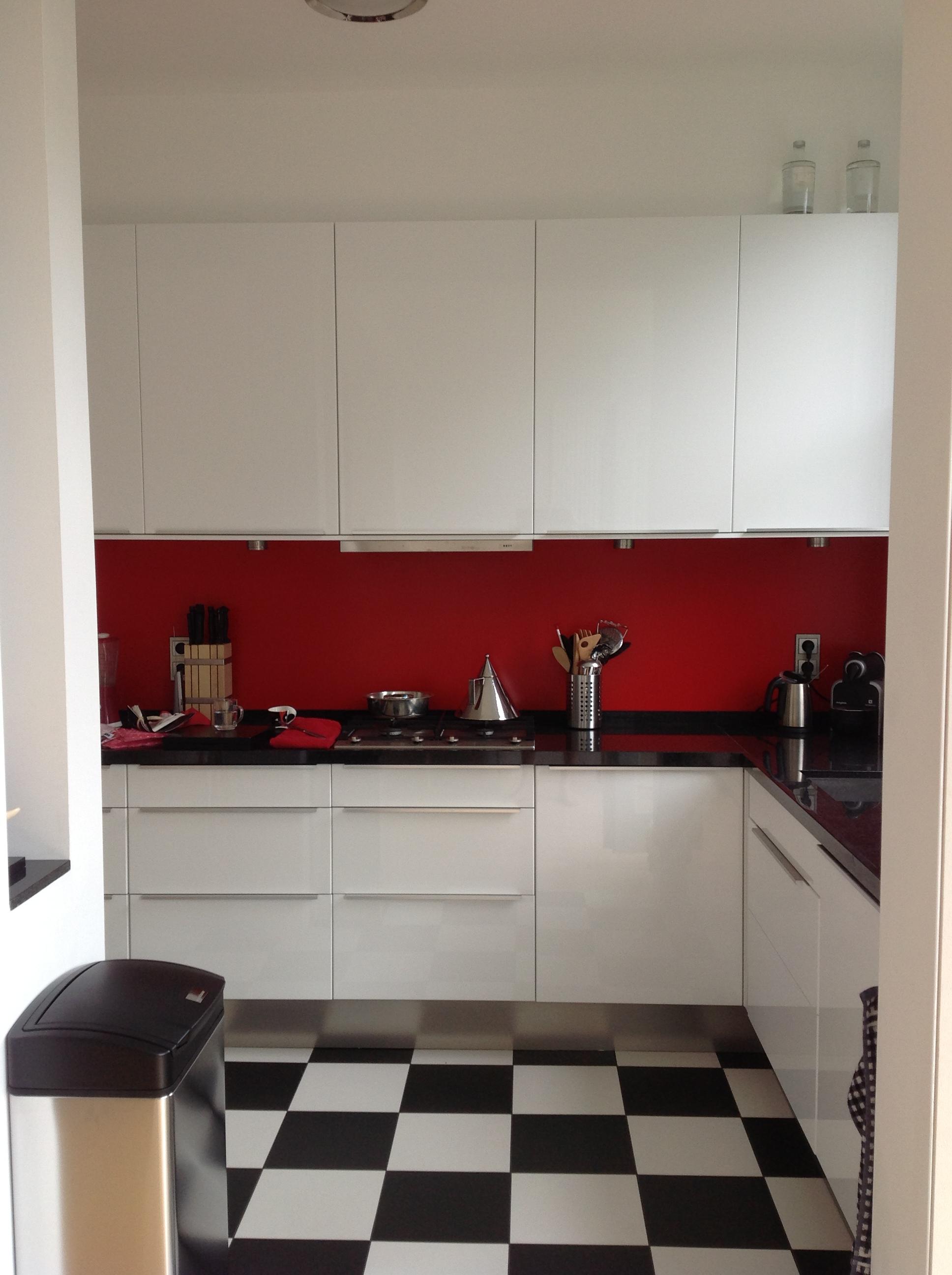 De keuken na de verbouwing