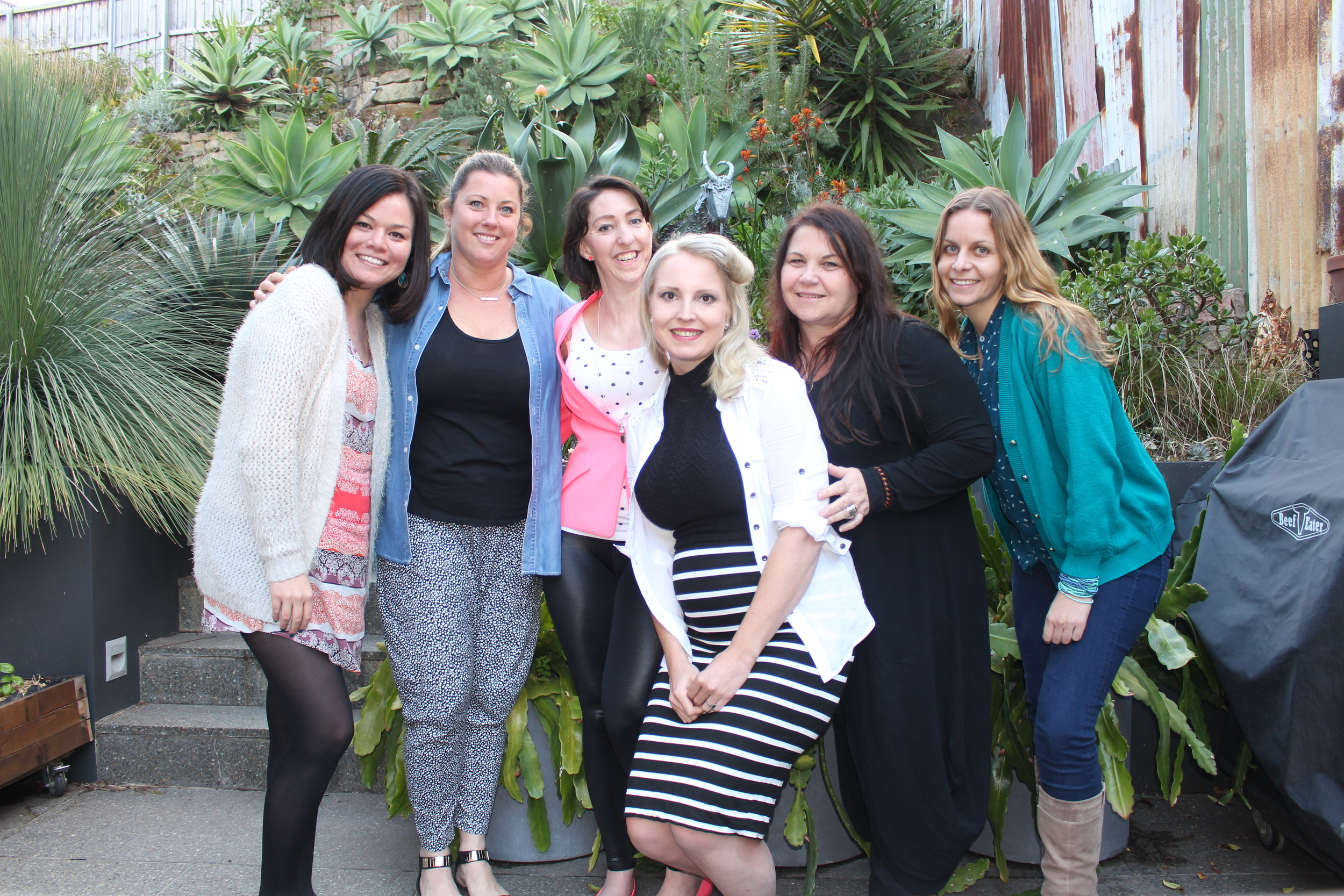 Tess Philip, Rebecca Grainger from The Edit Hub, Me, Sarah Liddle, Dr. Cate Cole, and Heather Lynn at 'The Art of Business and The Craft of Coaching' Workshop in Sydney.  Photo Credit: Sarah Liddle