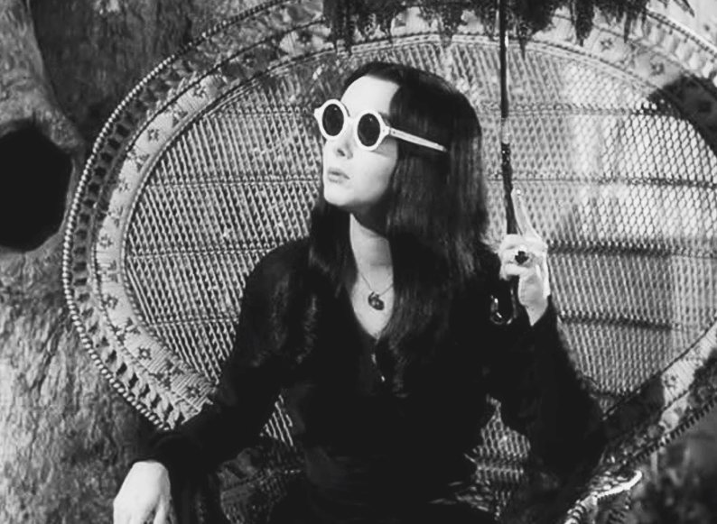 That's enough people for today.  Image Source:  Carolyn Jones as Morticia Addams