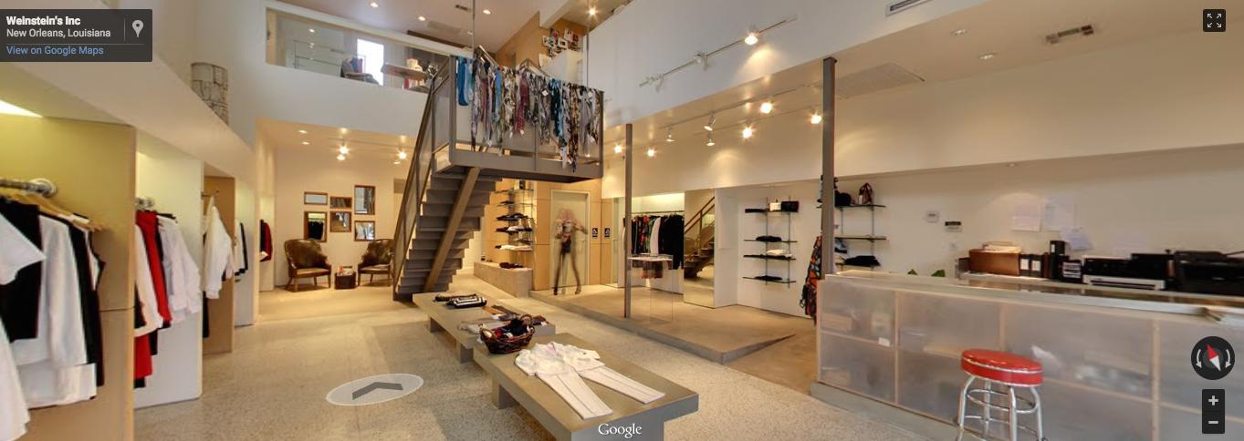 New Orleans Women's Retail  CLICK photo to walk around inside .