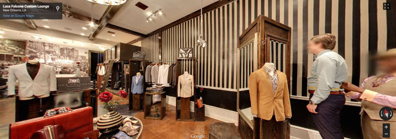 Men's Clothing- New Orleans  CLICK photo to walk around inside .