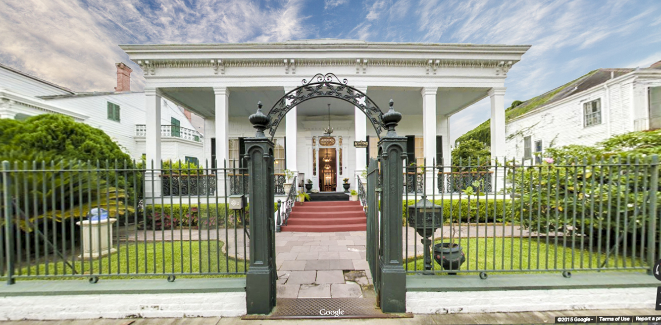 Click on the door to tour the Bed & Breakfast