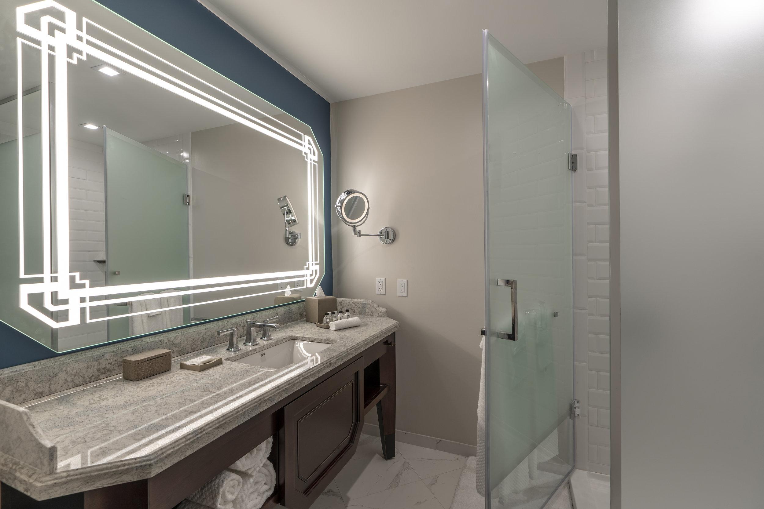 Pre-opening Hotel Model Bath