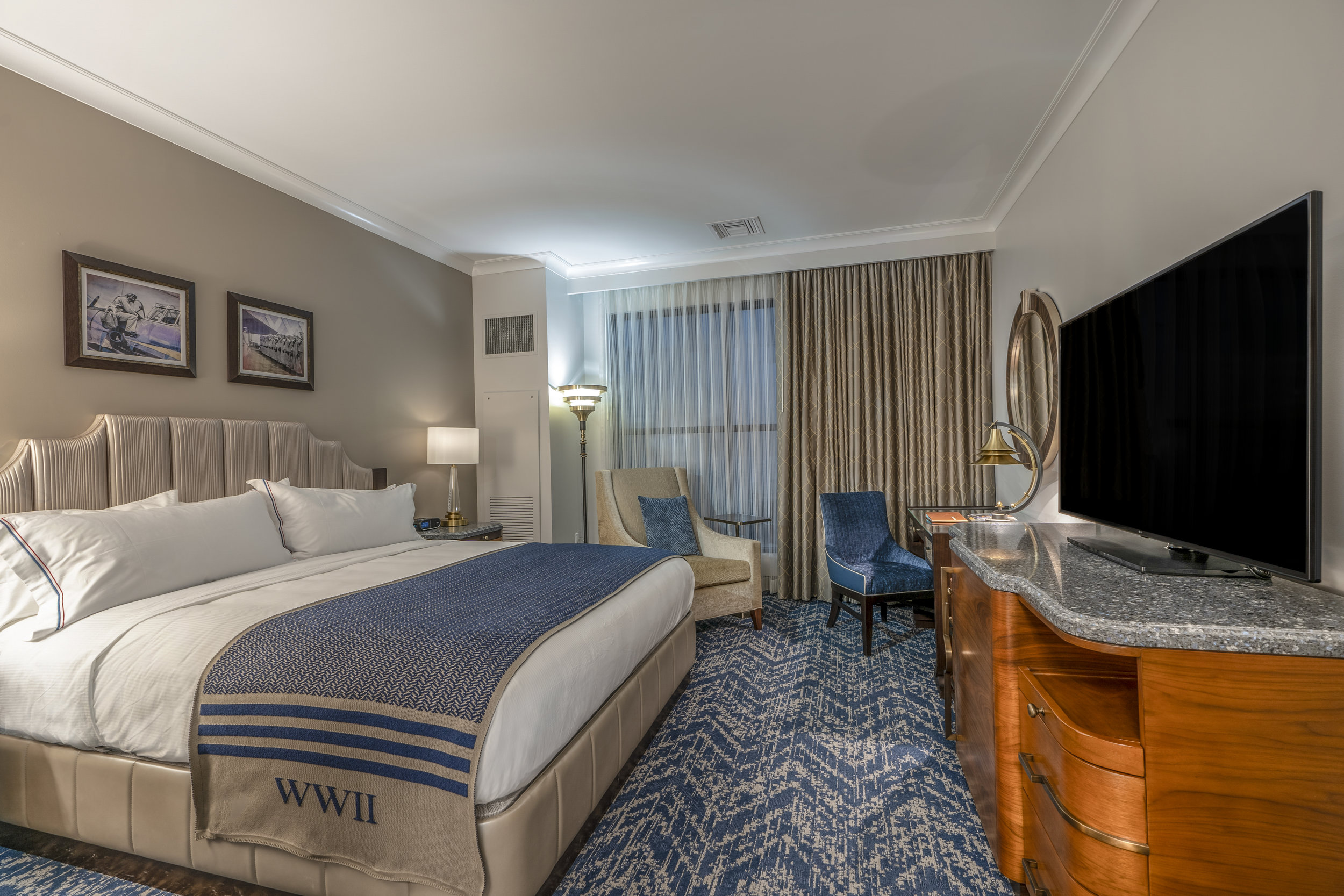 Pre-opening Hotel Model Room.