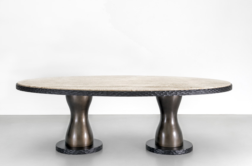 ABARA OVAL DINING TABLE