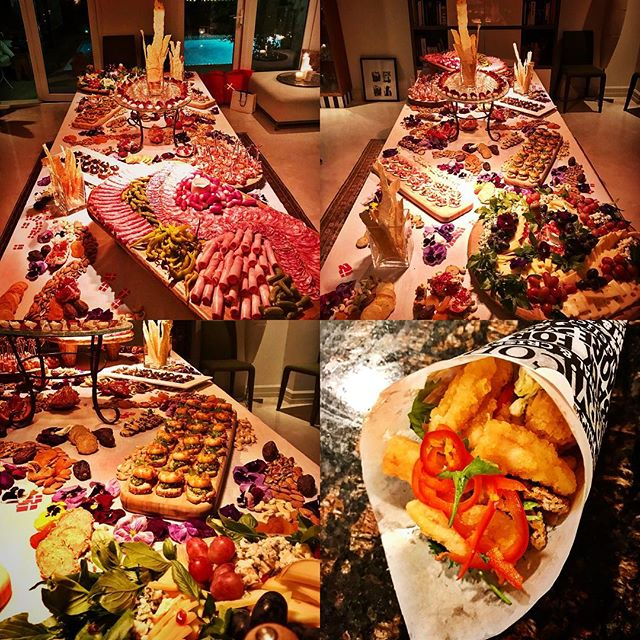 A few highlights from this weekends 50th Birthday party that we catered for!! The Picasso Table killed it again!! #bornskitchen#cookingclass#cookingindubai#cookingclassesindubai#cooking#foodindubai#dubaifoodies#foodnetwork#dubaifoodscene#dubaifoodies#catering#cateringindubai#dubaievents#event#picassotable#charcuterie#cheese#antipasto#cartamusica#calamari#