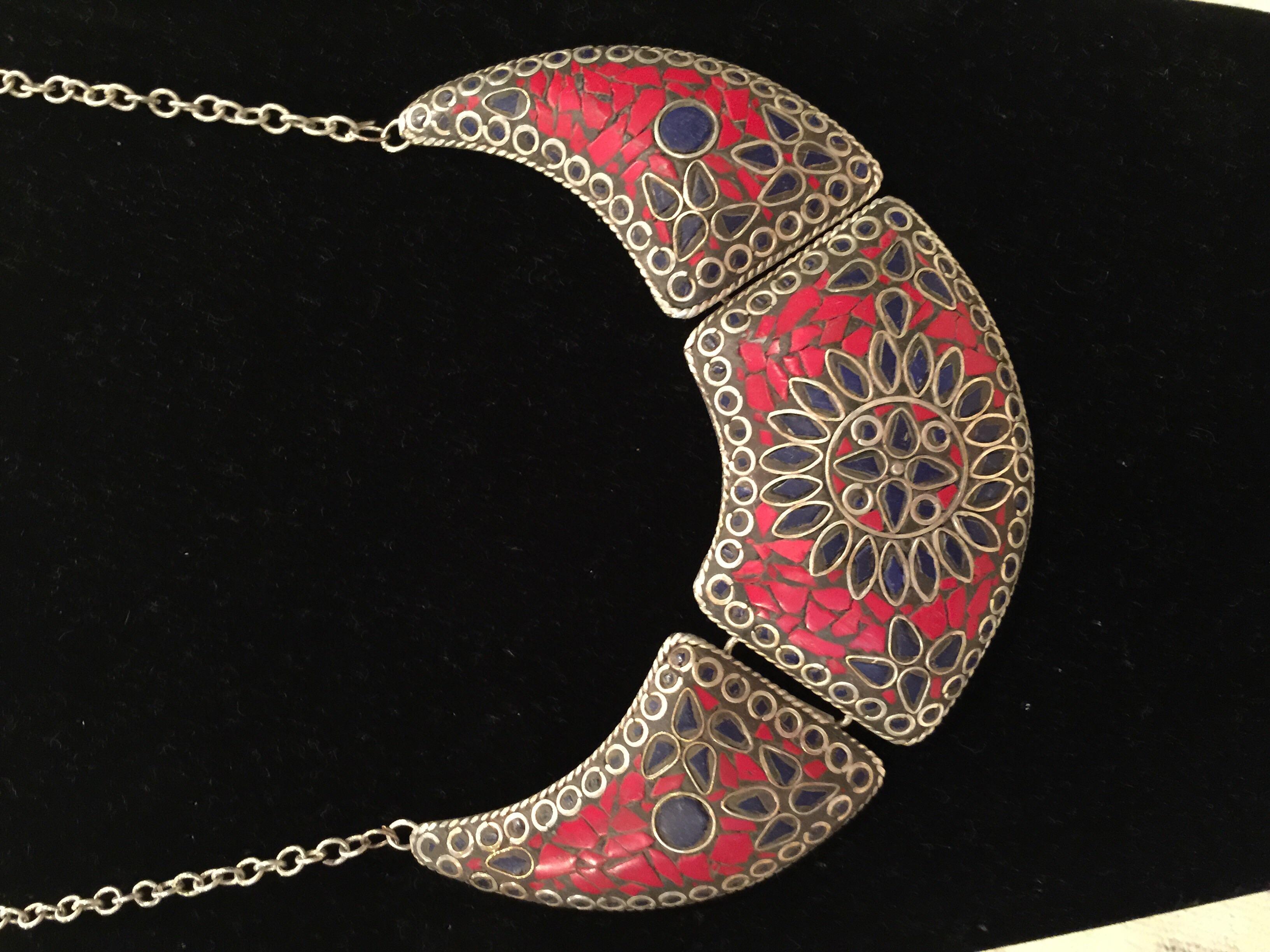 Moroccan necklace, women