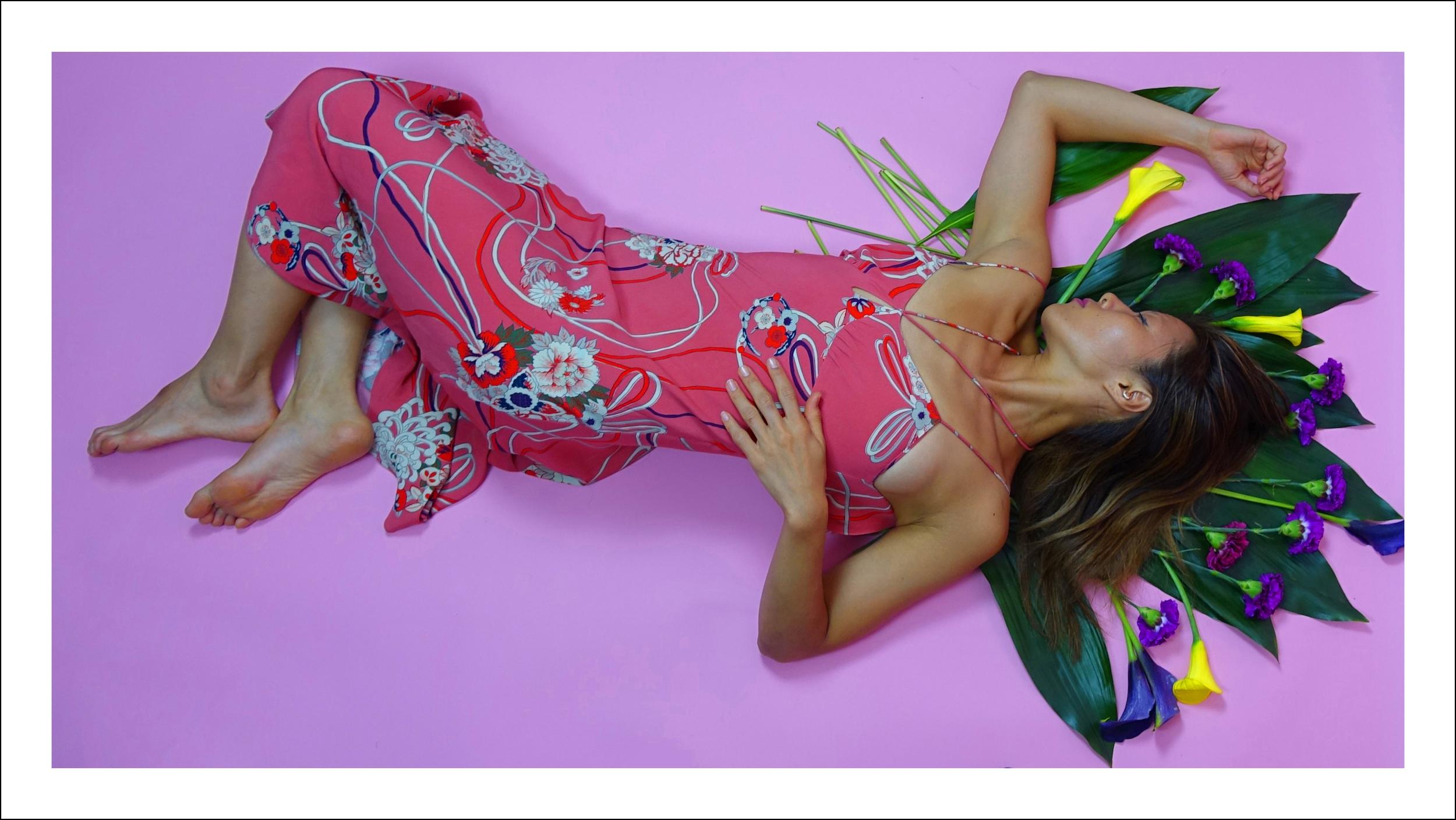 Photography, Art Direction, Post Production : Maxmillion Rosario Model:  Riji Suh   Styling & Design Direction:  Simon Alcantara  Produced by  Creative Collective Col-LAB