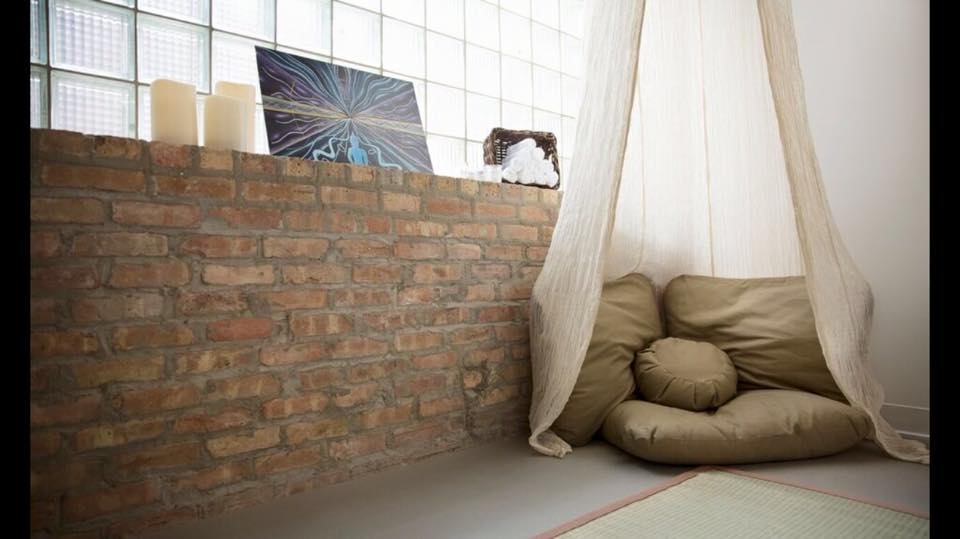 Float Sixty's Meditation Room provides a calming space with natural light