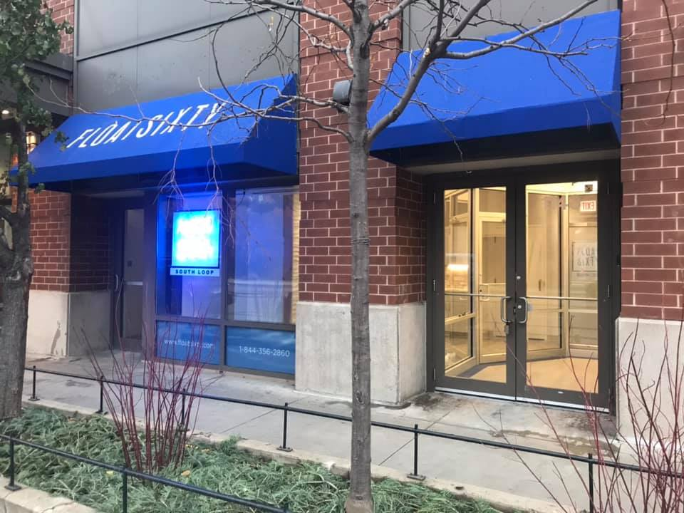 Hello South Loop! - We are so thrilled to make Chicago's South Loop home to our flagship Float Sixty location! We are located just north of the Roosevelt intersection at 1143 S State Street right next door to FFC and the CTA Red Line station.