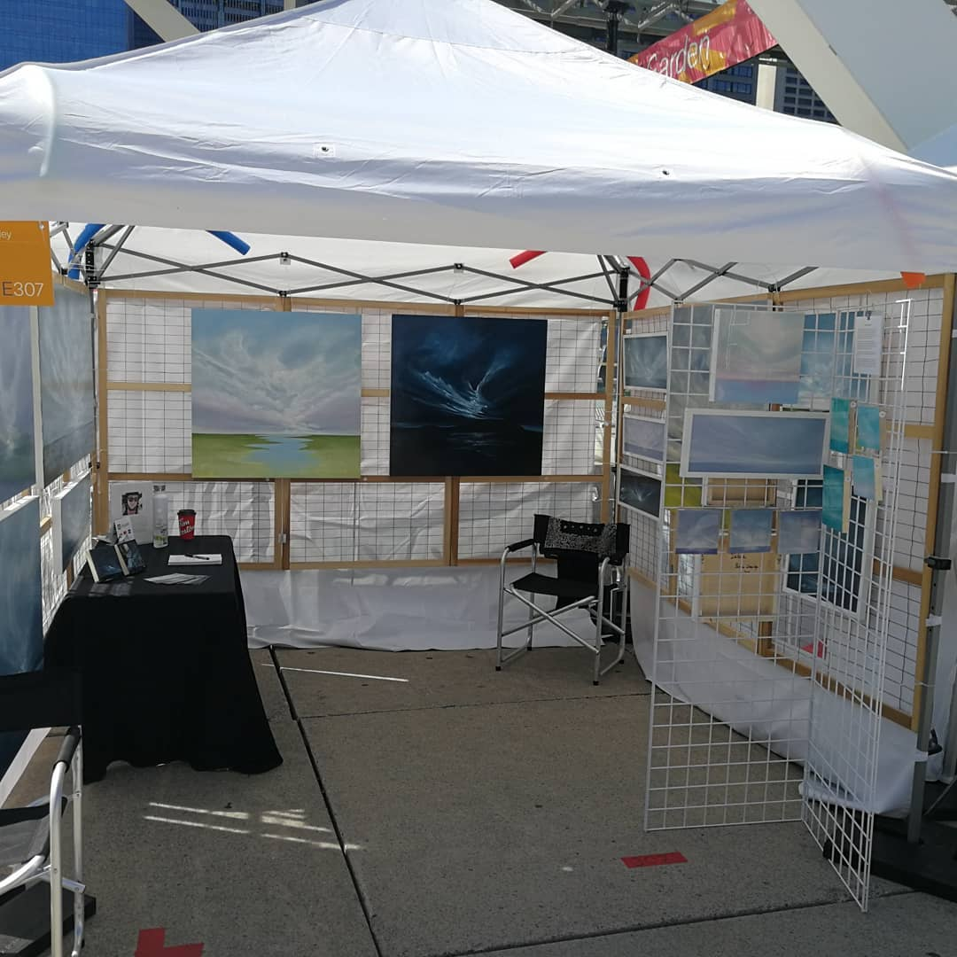 My booth #307 Zone E at the TOAF 2019