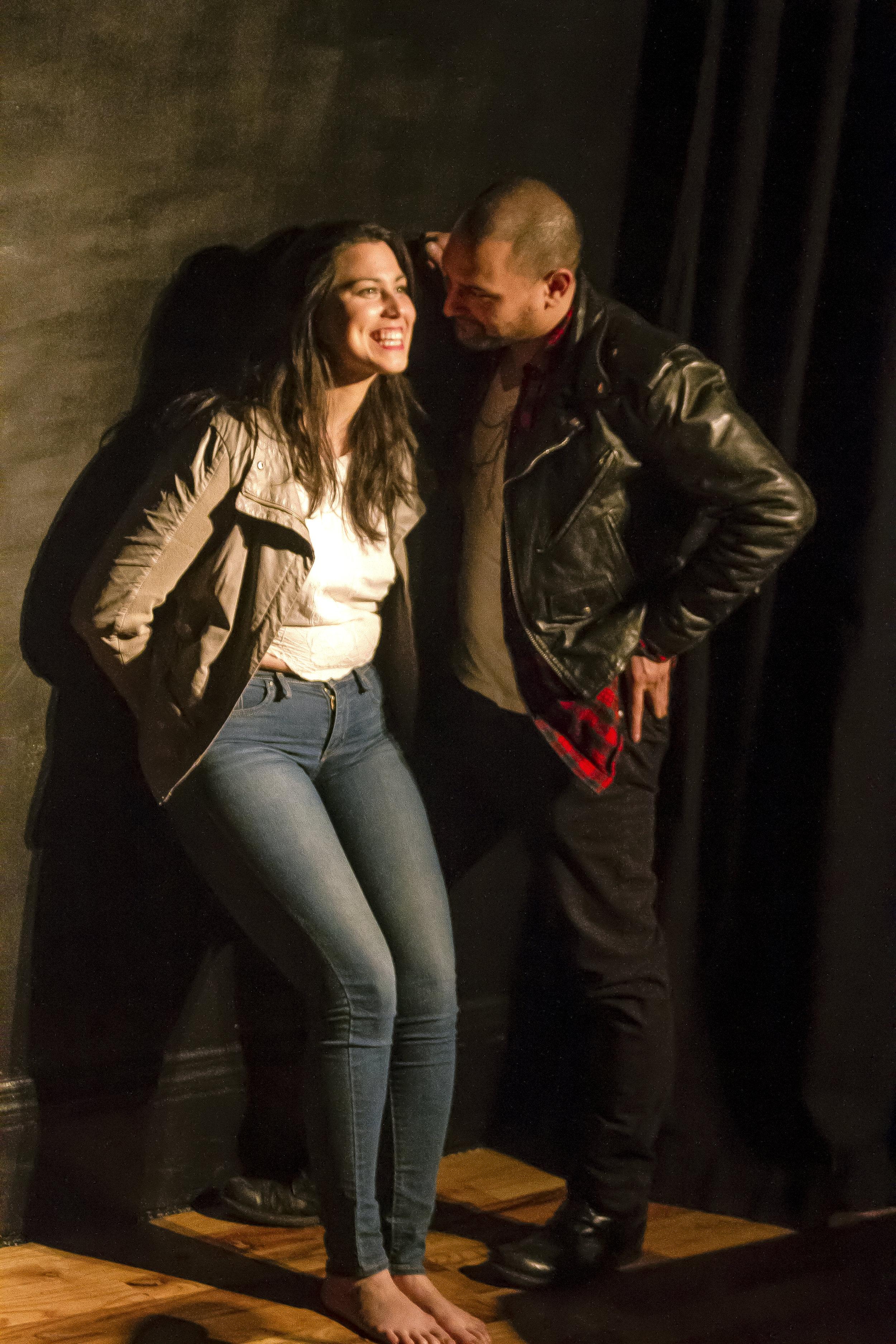 """PHOTOGRAPHER: SADIE PORTMAN  Jacqui Rêgo as """"Leslie, Tama Filianga as """"Wyatt."""""""