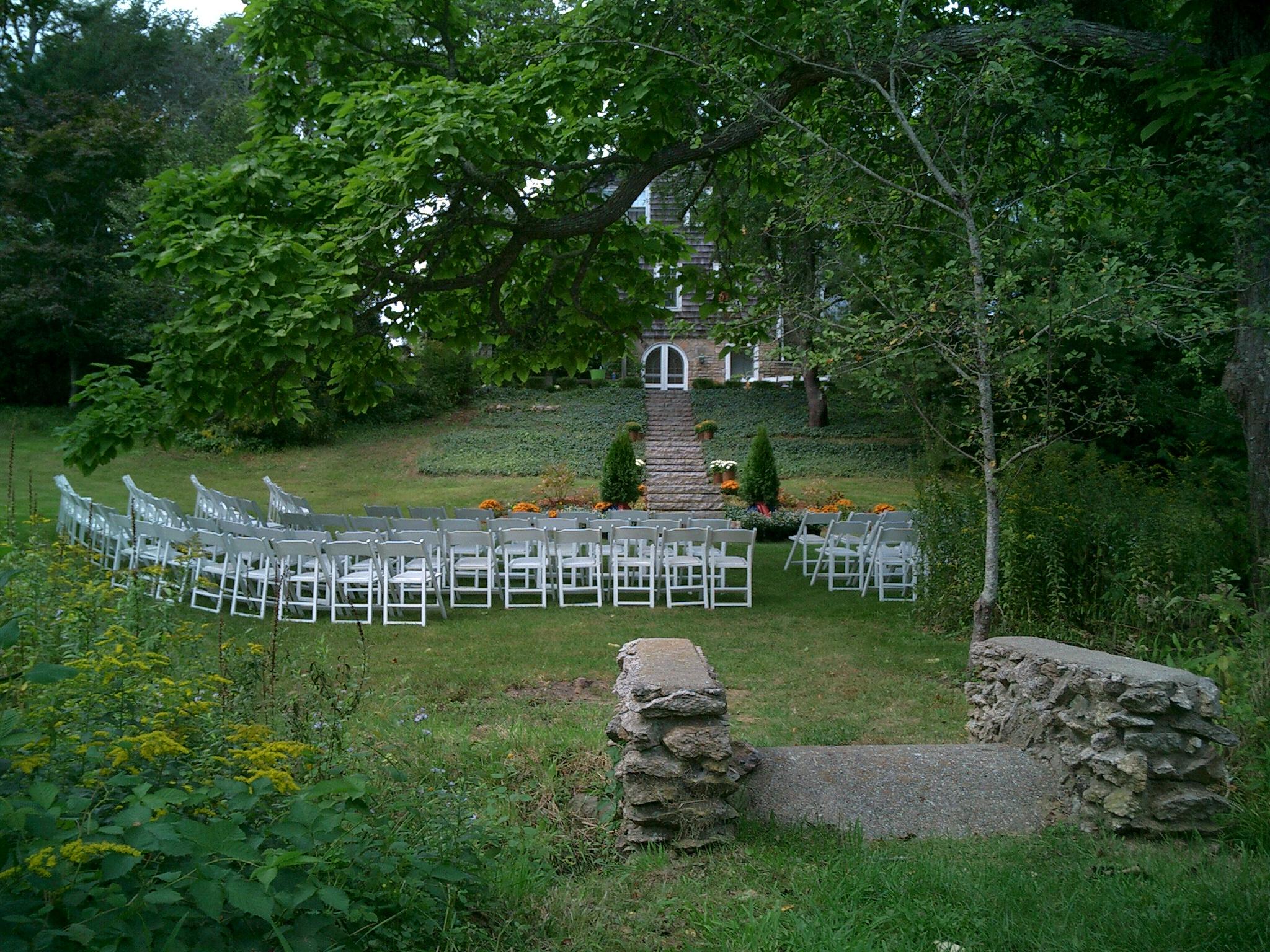 chairs on lower lawn:wedding.JPG
