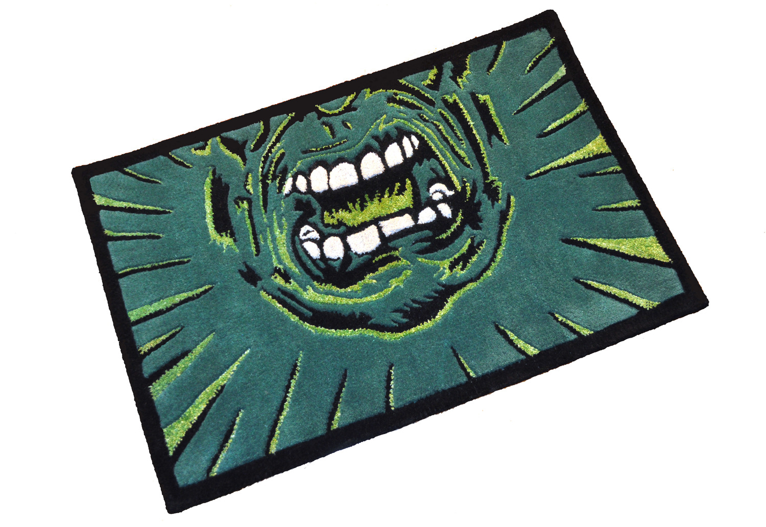 Hulk Rug  | Edition 1/1 | Hand tufted in wool and bamboo | 2'x3' | 2014