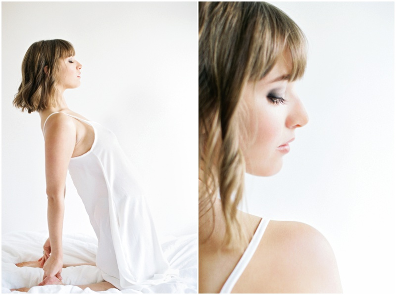 Intimate women's boudoir photography in Medford, Oregon by Betsy Blue.