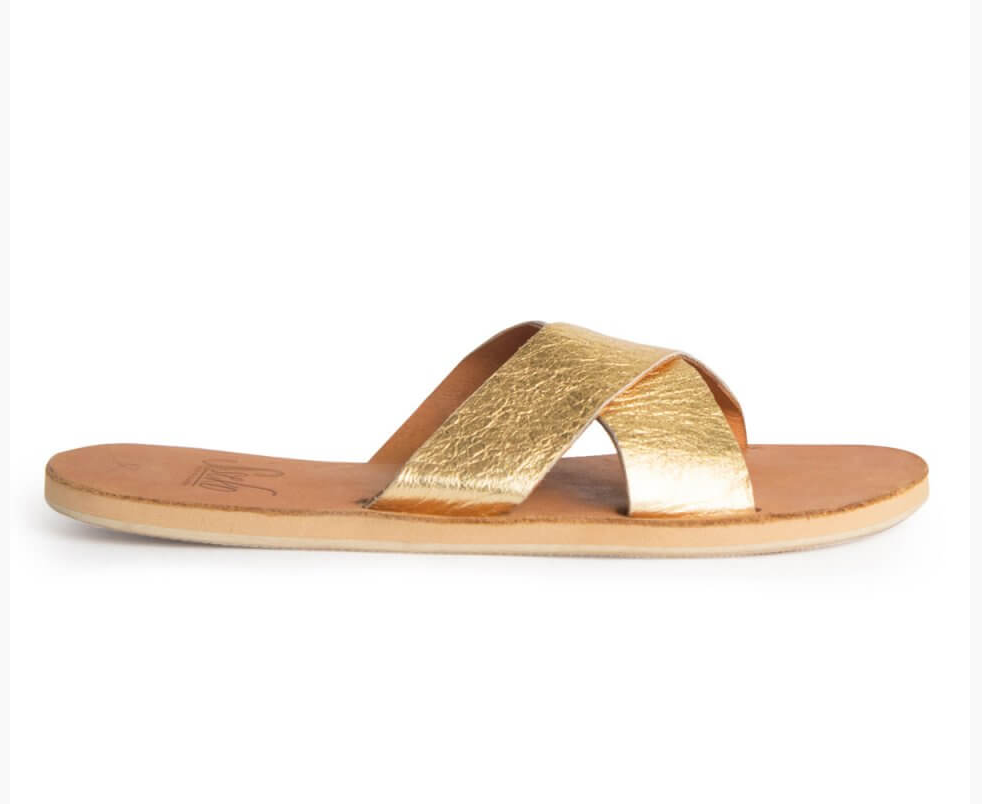 Your girls need something comfy to slip on and off as they run around helping out on your wedding day. I don't know too many bridesmaids who wouldn't appreciate a simple summer sandal to enjoy both during and after the special day. Added bonus...these sweet sandals are handmade in Uganda by women working to pursue university and overcome poverty. Women helping women!