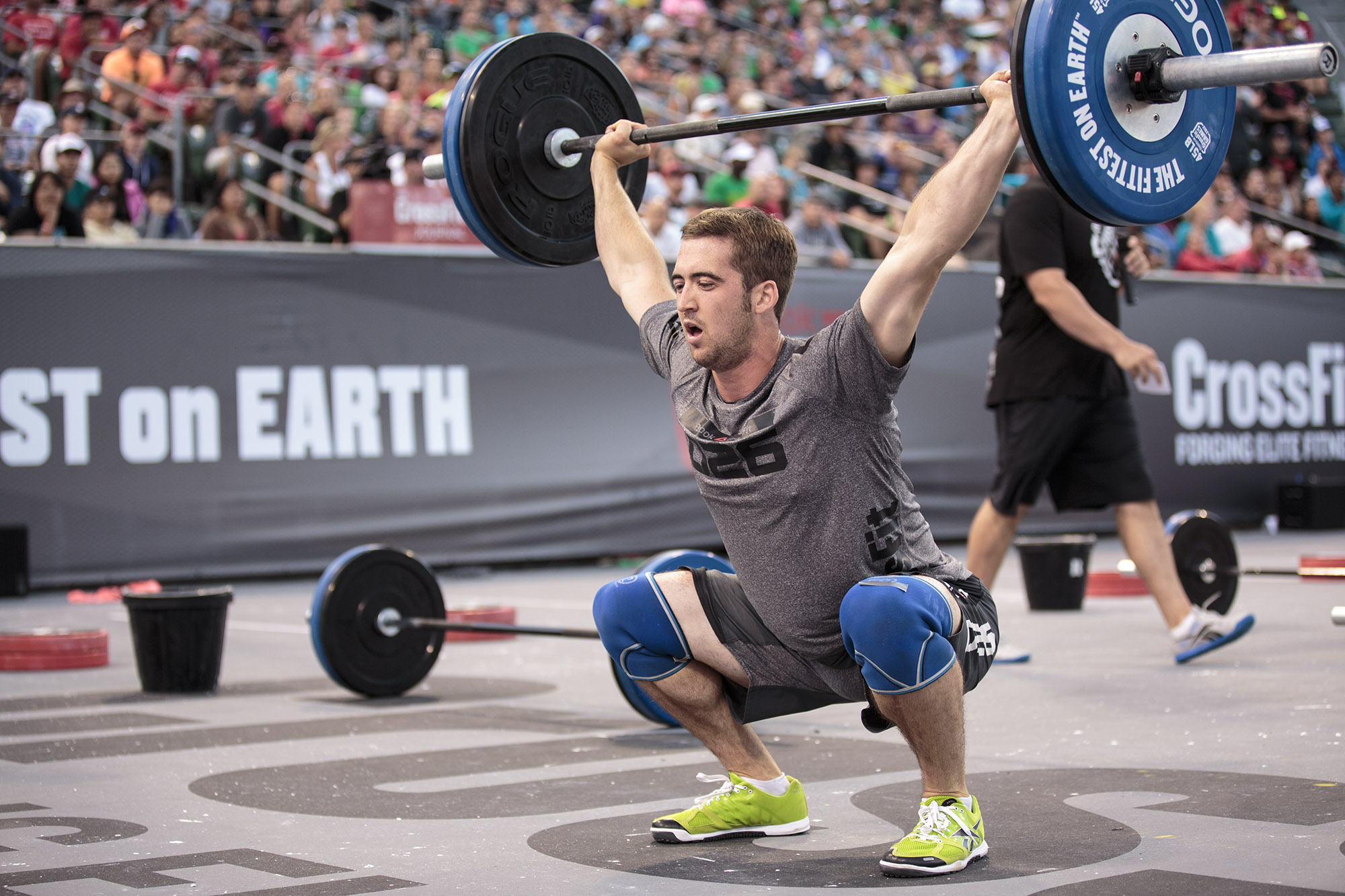 Ben Smith is the 2015 Fittest Man on Earth, he has been to the CrossFit games 7 times and he definitely deserves the title.
