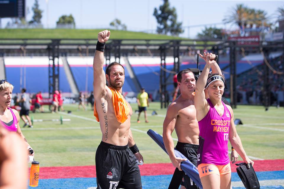 And Mr. Rich Froning's team CrossFit Mayhem Freedom is the 2015 Fittest Team on Earth.