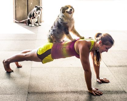 Puppy Push-ups!!! Taken from CrossFit.com
