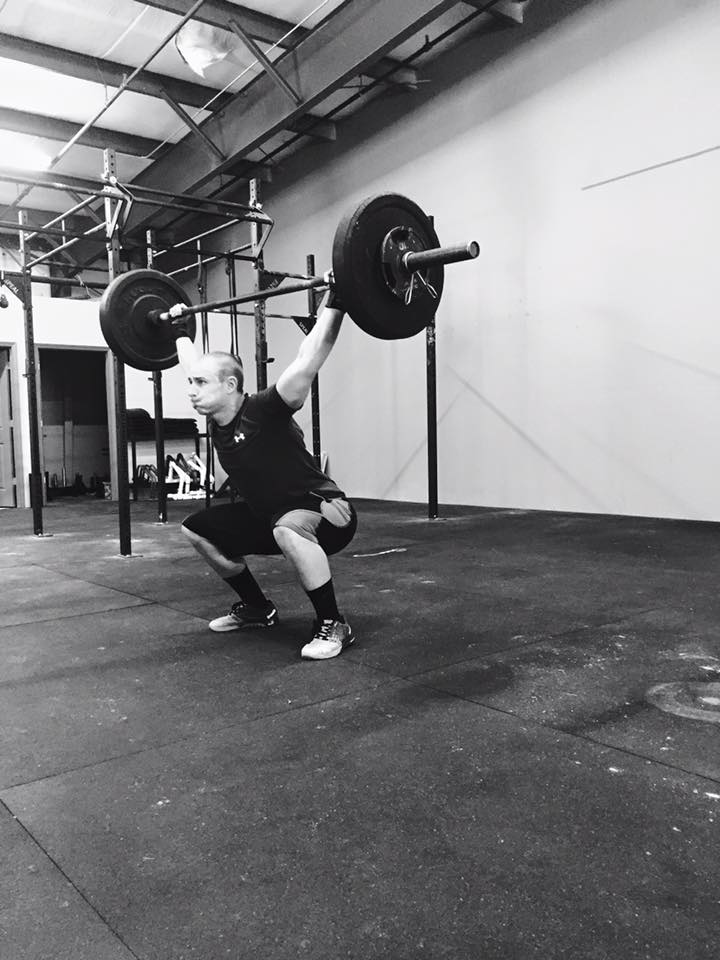I'm not saying you need ROMWOD, Jesse. This is just a great black and white Overhead Squat picture of you.