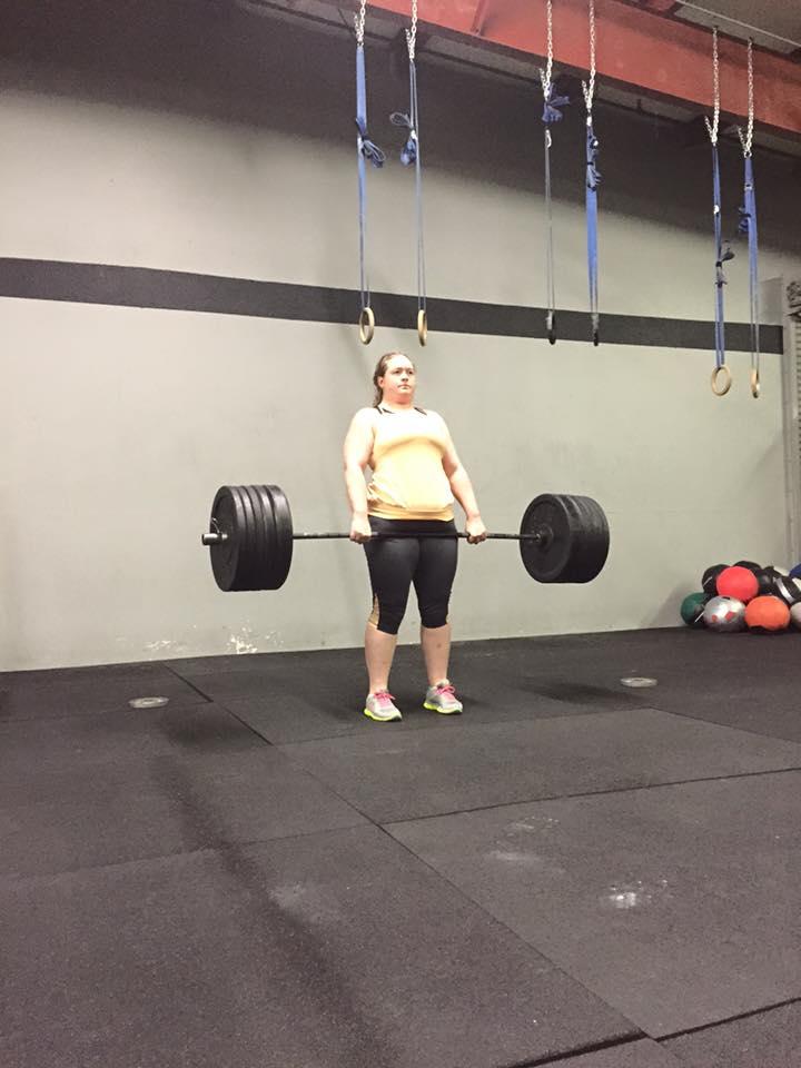 Cindy lifting heavy, setting PRs, accomplishing goals!
