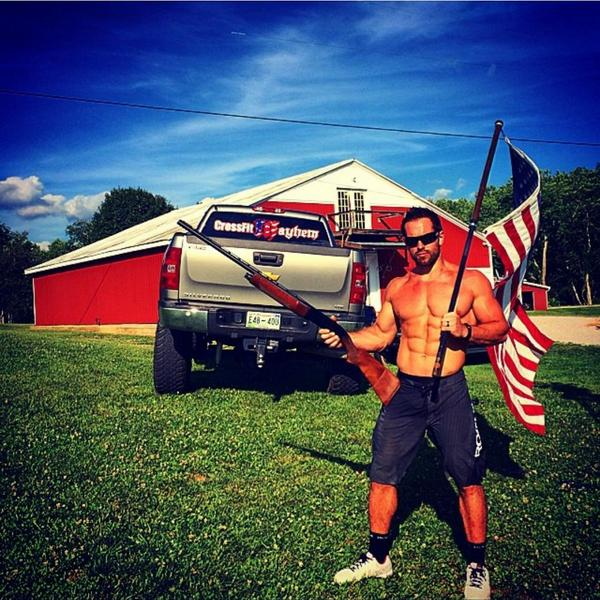 Now that's patriotic, think you can beat it?