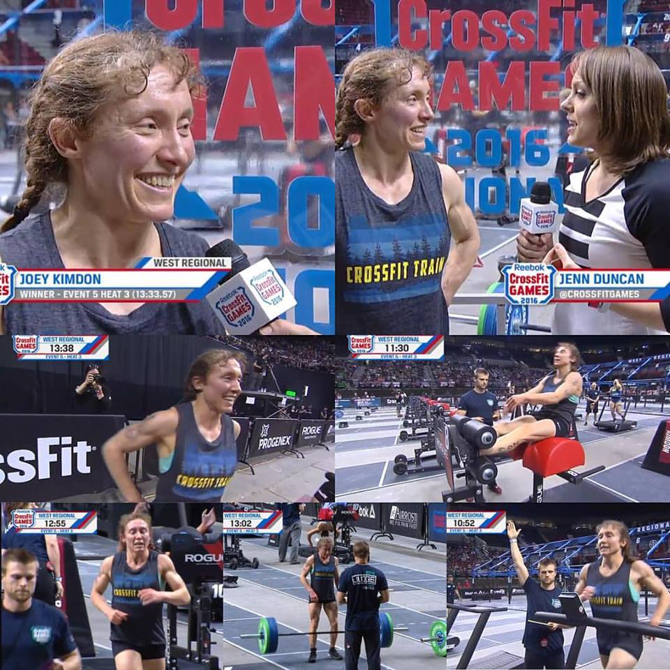 An awesome collage of Joey annihilating Event 5!                                           (Thanks Tish Bottaro)