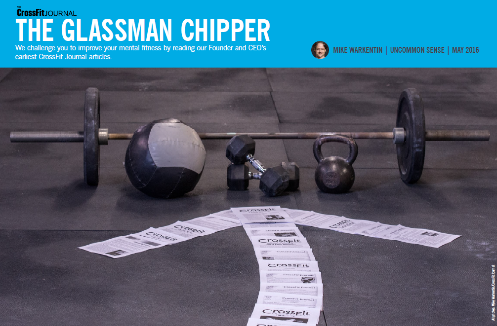 Photo taken from the CrossFit Journal