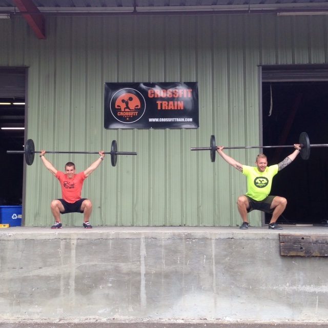 A couple of the first squats ever done at our new location, circa June 2015