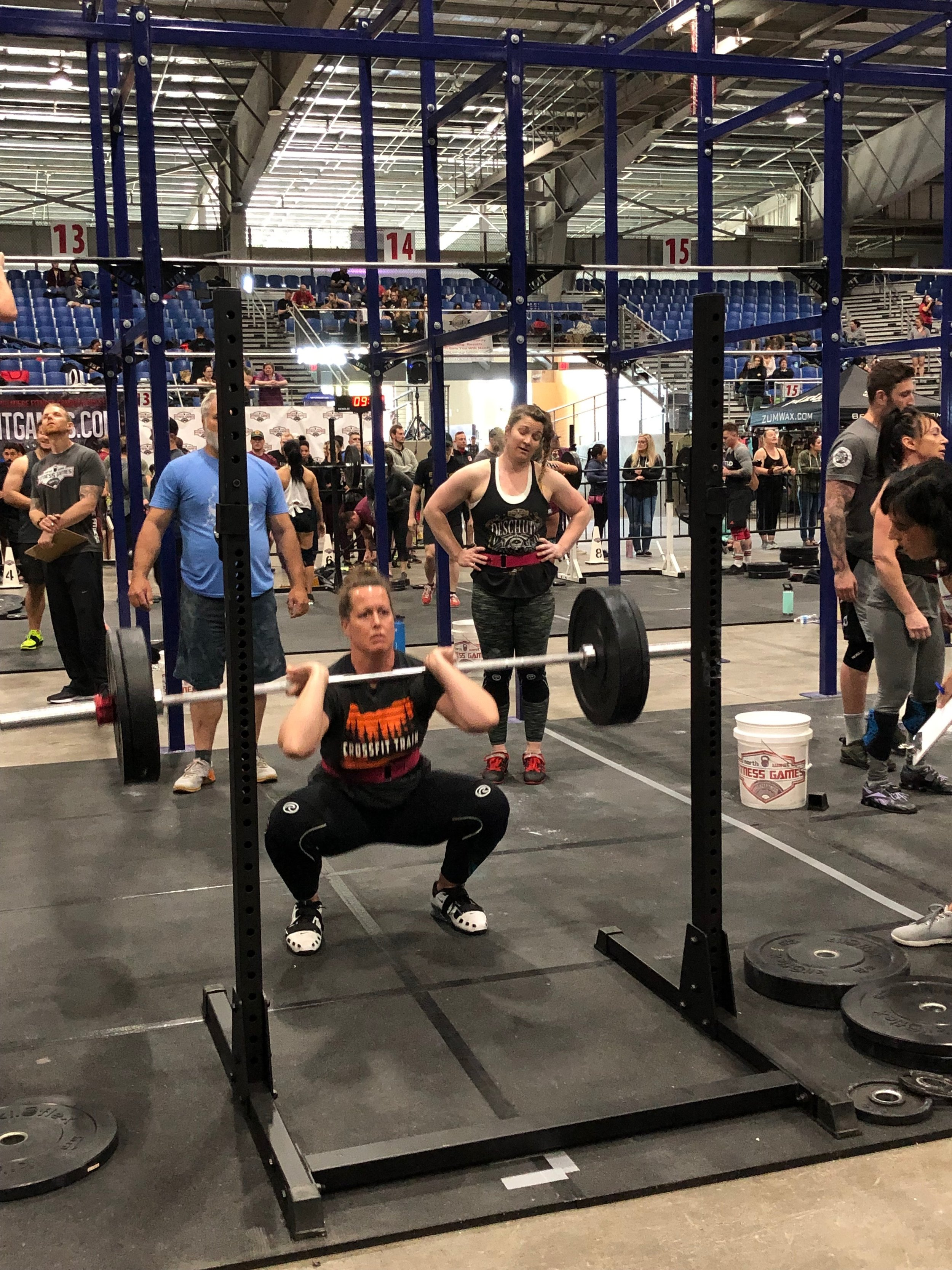 Front Squats with Friends!!!