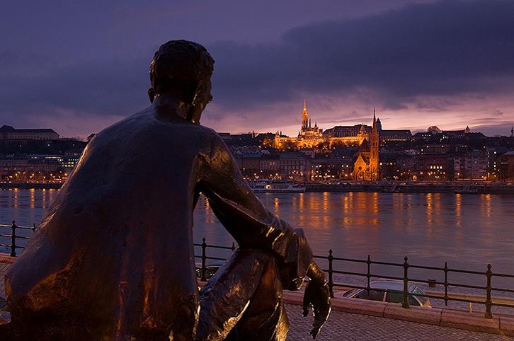Petofi Statue Budapest