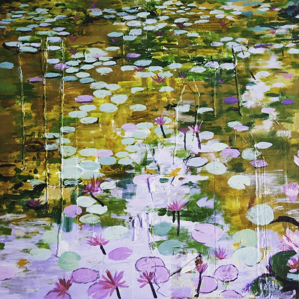 """""""Lily Pads"""" (2014)"""