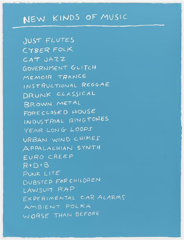 Scott Reader, New Kinds of Music, 2015